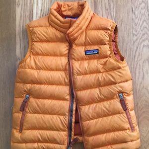 Kids Patagonia Boys down vest. Size XS 5/6.